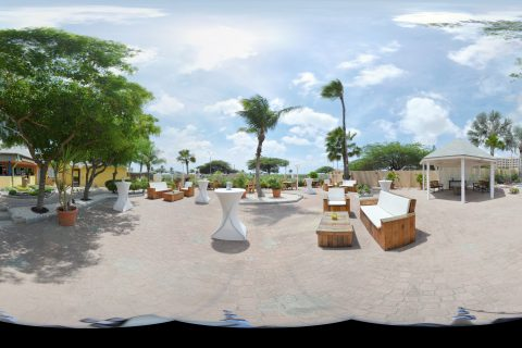 Resort Panorama Shot